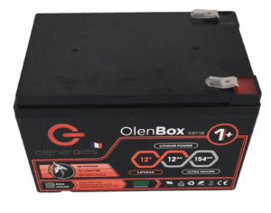 OlenBox Serie 1 12.8V12Ah 2 300x236, Olenergies - Batteries de stockage lithium LFP - French lithium battery manufacturer