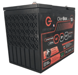 OlenBox Serie 10 51.2V25.6Ah 300x288, Olenergies - Batteries de stockage lithium LFP - French lithium battery manufacturer