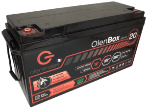 OlenBox Serie 20 12.8V201.6Ah 300x221, Olenergies - Batteries de stockage lithium LFP - French lithium battery manufacturer