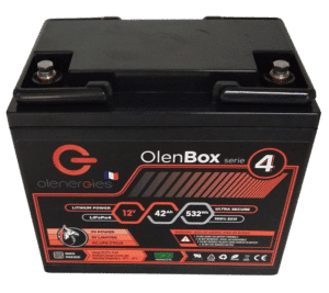 OlenBox Serie 4 12.8V41.6Ah 1 300x267, Olenergies - Batteries de stockage lithium LFP - French lithium battery manufacturer
