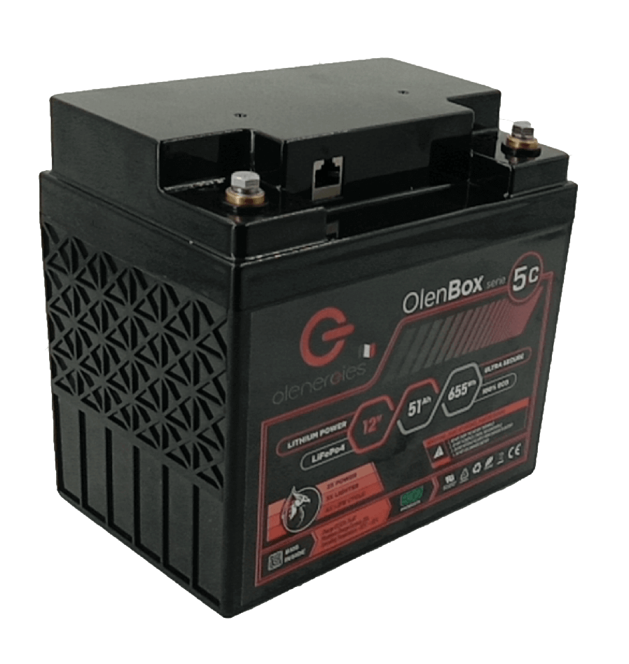 OlenBox 5C Detouré, Olenergies - Batteries de stockage lithium LFP - French lithium battery manufacturer